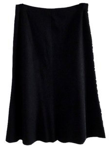 Banana Republic Wool Skirt black