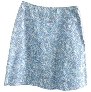 Bass Floral Skirt blue-white
