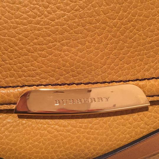 Burberry Unique Limited Leather Clutch Cross Body Bag