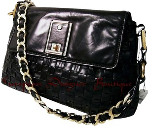 Marc Jacobs Hand Woven Leather Shoulder Bag