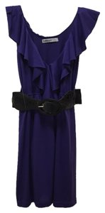 Bailey Girl short dress Purple Belted on Tradesy