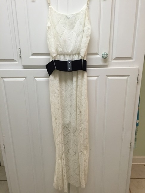Off White Maxi Dress by Maurices