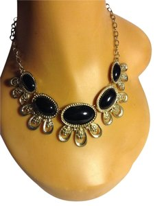 Ovals Shape Statement Necklace
