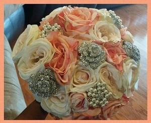 Wedding Brooch Bling Bouquet