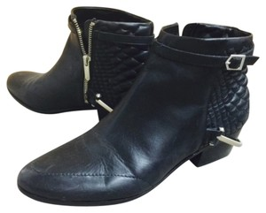 Sam Edelman Saddle Leather Stylish Black Boots