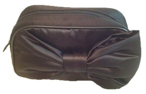 Dior Black bow elegant makeup bag clutch pouch by Dior parfums