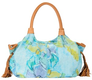 Buxton Satchel in Floral Multi