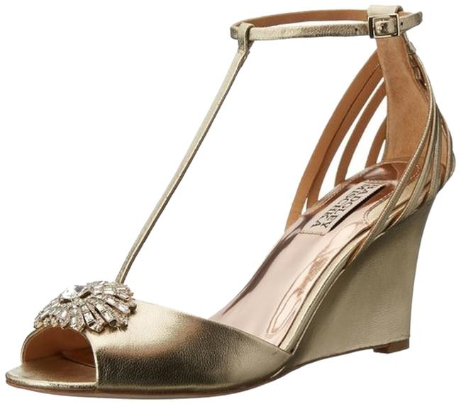 Item - Gold Milly Formal Shoes Size US 7.5 Regular (M, B)