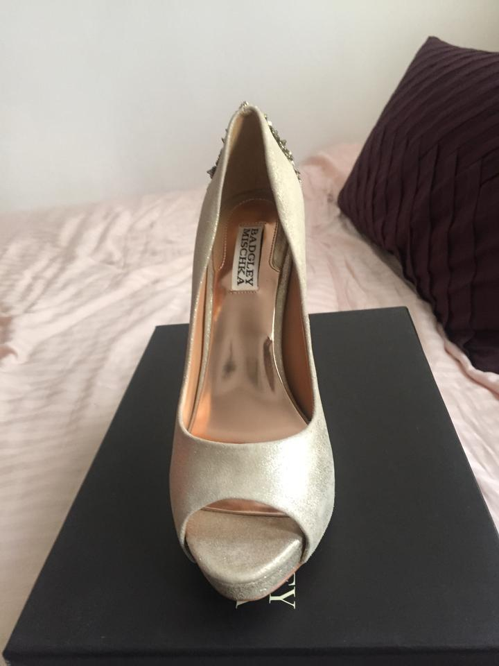 Formal Mischka Ii Pumps Gold Badgley Evening Dree tY7dxPPqw