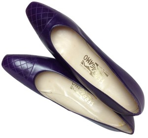 Salvatore Ferragamo Mulberry Pumps