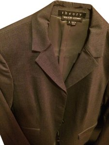 Theory Theory gray suit, size 6. Like new.