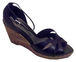 Chinese Laundry Black, Brown Wedges