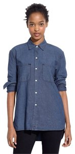 Madewell Button Down Shirt Harvest Wash