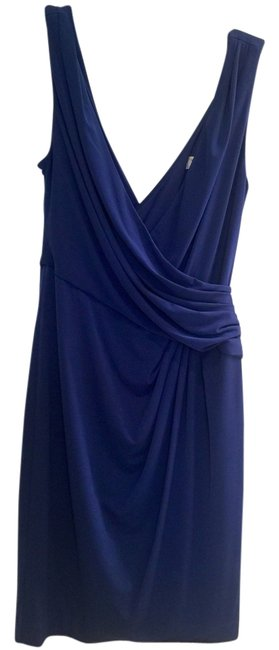 Trina Turk short dress Slate Blue on Tradesy