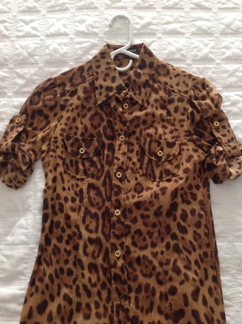 Dolce&Gabbana Top Animal print