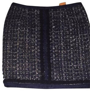 Tory Burch Skirt Navy, Black, White