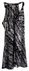 Kenneth Cole short dress Black/White Print on Tradesy