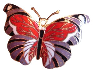 Other Cloisonne Butterfly Pin