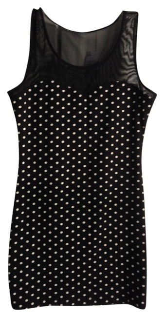 Forever 21 short dress Black With White Polka Dots on Tradesy