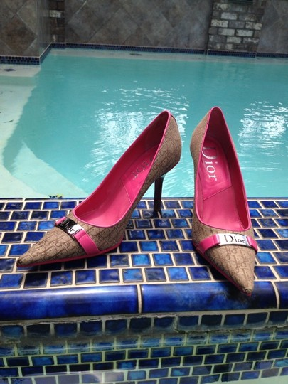 Dior Hot Pink Pumps