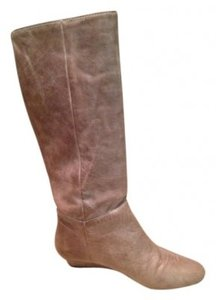 Steven by Steve Madden Stone Leather Boots