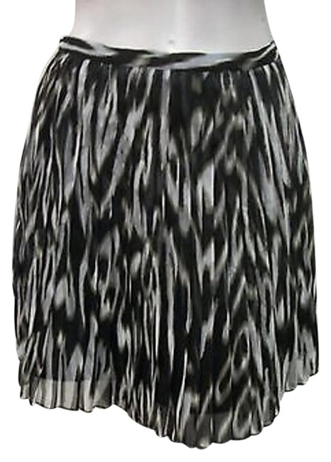 Jack by BB Dakota Gytta Pleated Animal Print Skirt Multi-Color
