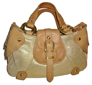 Kenneth Cole Satchel in Beige