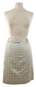 Jones New York Woman Designer Skirt Beige Belted