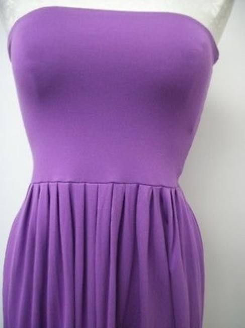Nougat London short dress Purples Knit Strapless Ng7508 Freesia on Tradesy Image 1