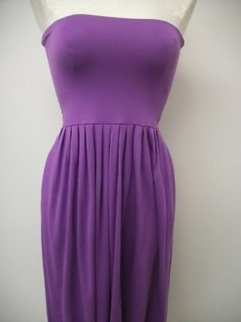 Nougat London short dress Purples Knit Strapless Ng7508 Freesia on Tradesy Image 2