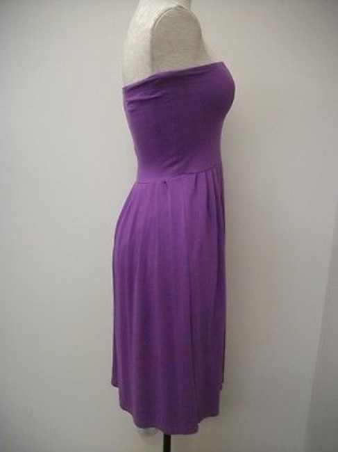 Nougat London short dress Purples Knit Strapless Ng7508 Freesia on Tradesy Image 3