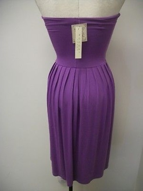 Nougat London short dress Purples Knit Strapless Ng7508 Freesia on Tradesy Image 4