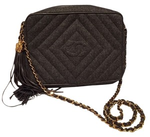 Chanel Vintage Camera Camera Chain Cross Body Bag