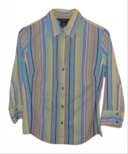 George Button Down Shirt Neptune Blue