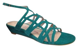 Sacha London Kid Jade Green Sandals