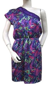 Smith Purple Multi Color Dress