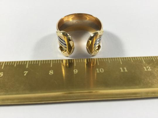 Cartier Cartier 18K Double C Decor Ring