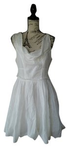 AllSaints short dress white on Tradesy