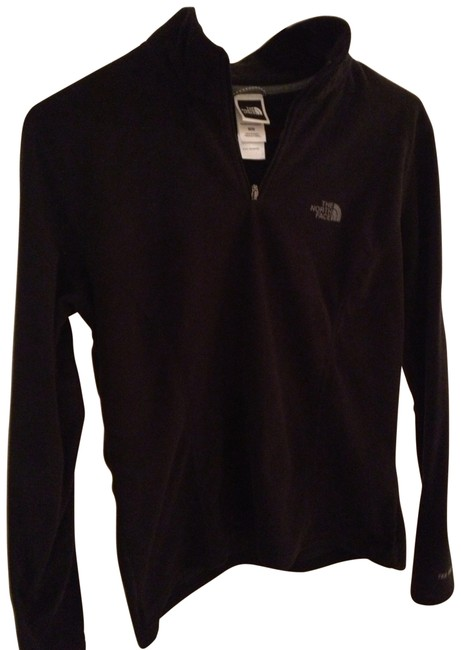 Preload https://item5.tradesy.com/images/the-north-face-black-tka-100-microvelour-quarter-zip-top-activewear-size-8-m-31409-0-0.jpg?width=400&height=650