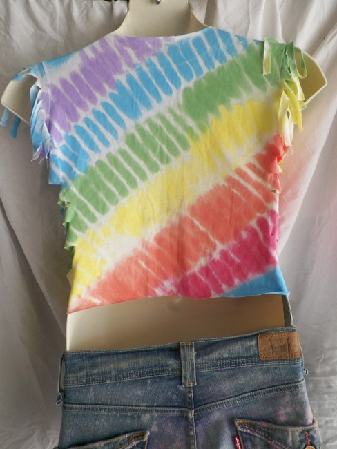 Other Recycled Fashions Tye T Shirt multi