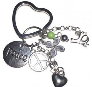 Other New!!! Peace keychain