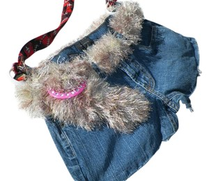 Other Green Eco Friendley Fshions Hand Made Denim Affordable Fashions Eco Cloths Shoulder Bag