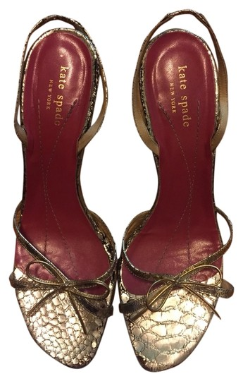 Kate Spade Metallic Gold Sandals