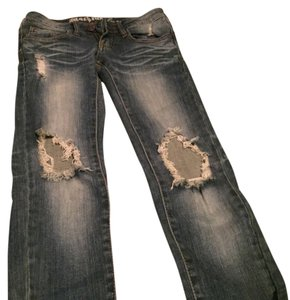 Wet Seal Skinny Jeans-Medium Wash
