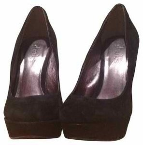 Charles by Charles David Black Suede Pumps