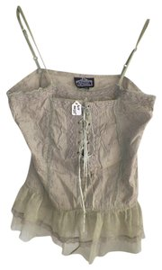 Angie Ffordable Cloths Top greenish cream