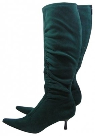Preload https://item2.tradesy.com/images/casual-corner-pine-green-pointed-knee-high-bootsbooties-size-us-7-regular-m-b-31451-0-0.jpg?width=440&height=440