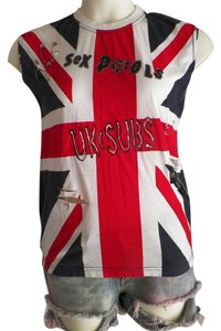 Other Eco Green Recycled Affordable Cloths Punk Fashion T Shirt red,white
