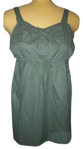 Be Bop short dress Olive Green New With Tags on Tradesy