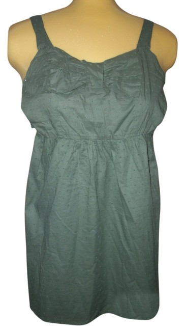 Item - Olive Green New with Tags Mid-length Short Casual Dress Size 12 (L)